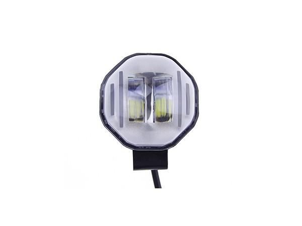 H022-扁光透镜外置LED灯带彩