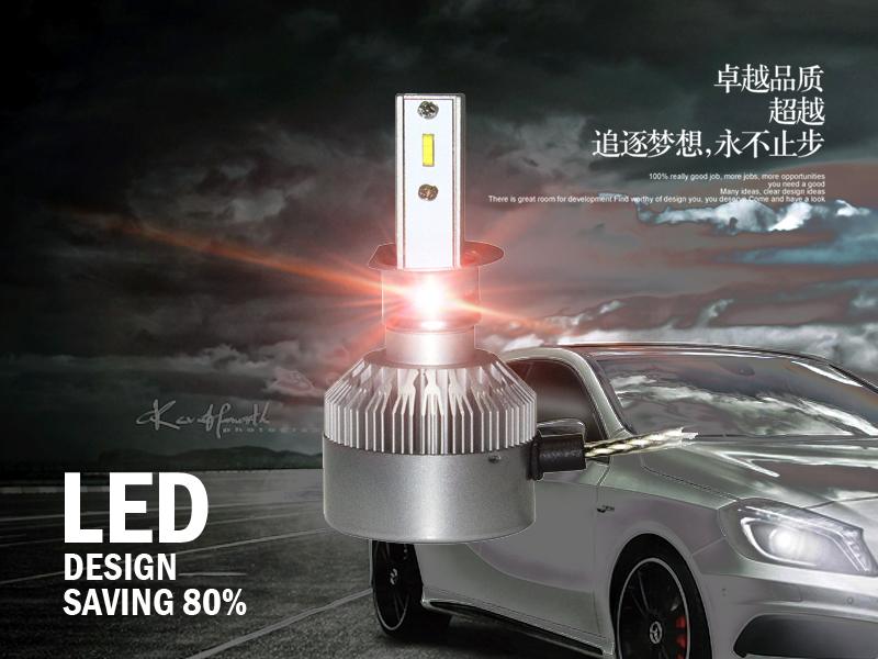 汽车LED灯光调整,无需上4S店
