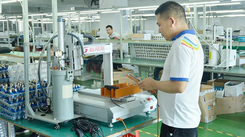 激扬生产设备自动打胶机