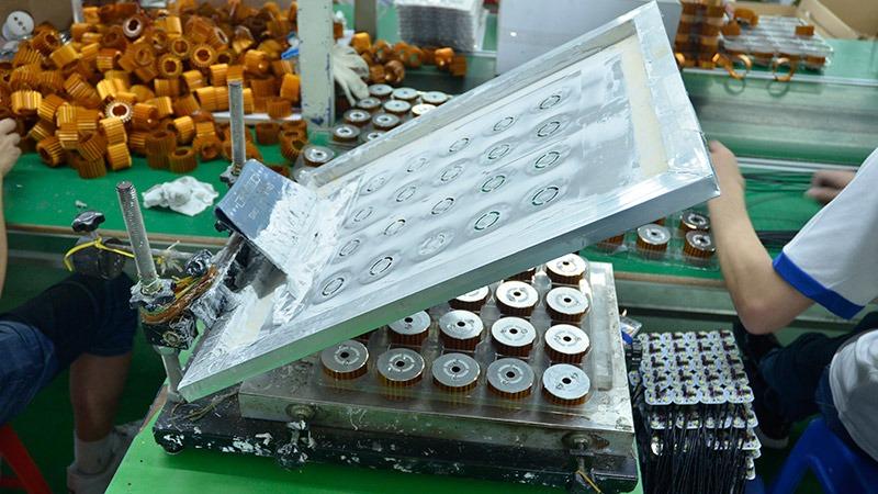 激扬生产设备-手动刮胶机