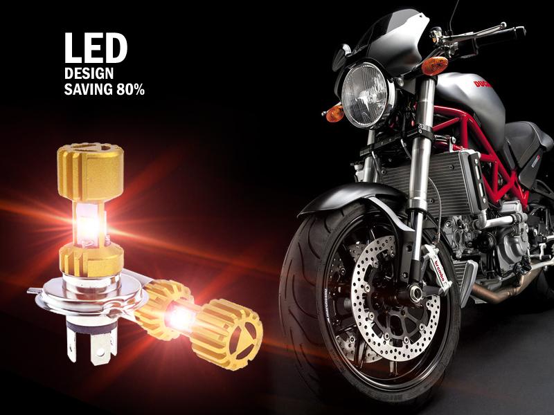 激扬摩托车LED灯好不好,顾客说了算!