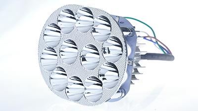 激扬的摩托车LED灯四条线如何接线?