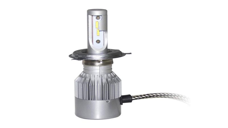 卤素灯改装LED车灯能过年检吗?