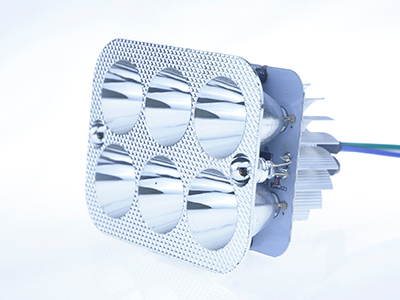 B012-六珠方形内置LED灯