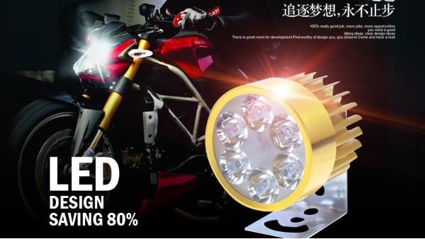 摩托车LED外置六珠圆形灯多少钱?