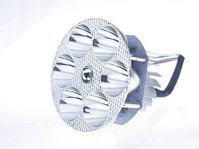 六珠内圆LED车灯