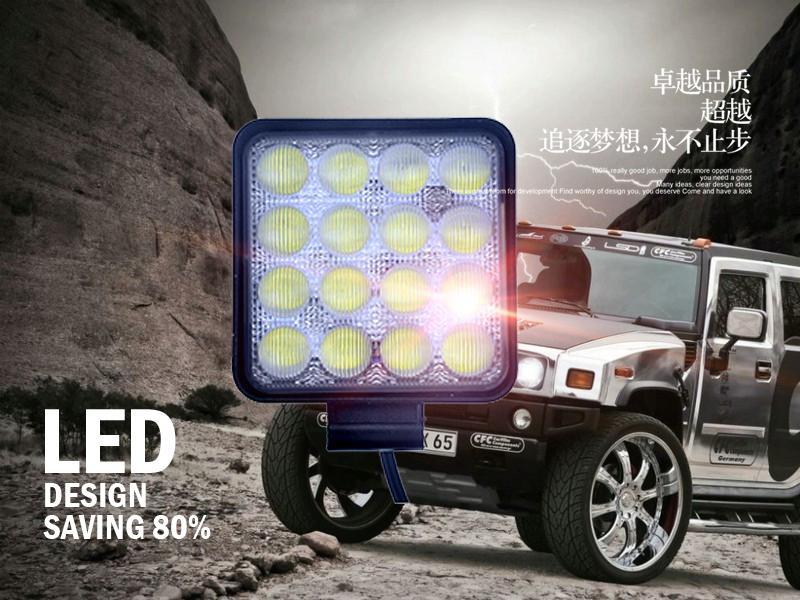 改装LED越野车灯的注意事项